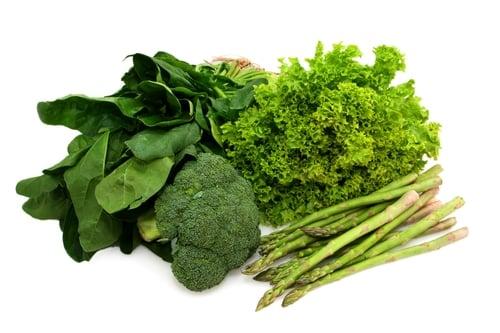 Aumenta el consumo de verduras de hojas verdes