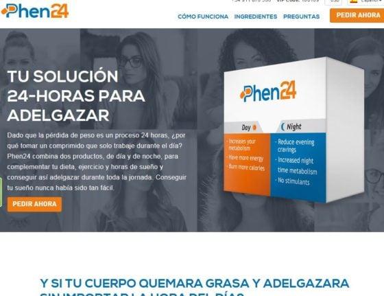 """El """"verdadero"""" Phen24 sólo está disponible en la página web oficial Phen24.com"""